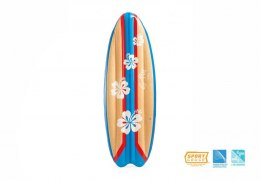 Materac Deska SURFS UP 178 x 69 cm INTEX Kwiaty